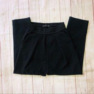 Zara man black tapered leg sweatpants size sm